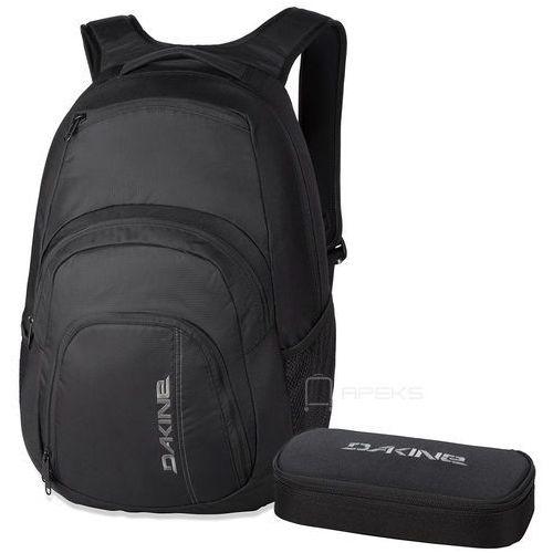 """campus 33l plecak miejski na laptopa 15"""" + piórnik gratis / black - black marki Dakine"""