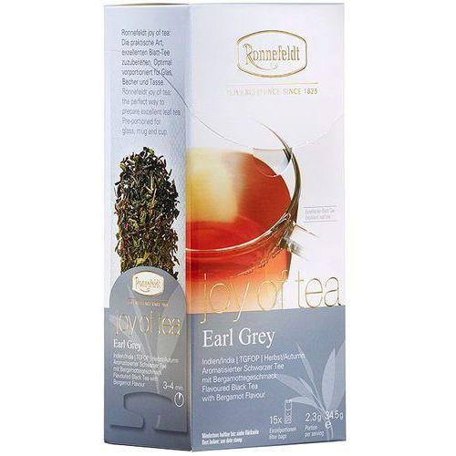 herbata joy of tea earl grey, 15 szt. marki Ronnefeldt