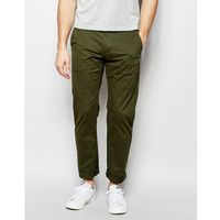 chino in slim fit stretch cotton - green, Farah
