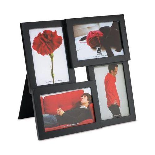 - zestaw ramek na zdjęcia - pane black marki Umbra