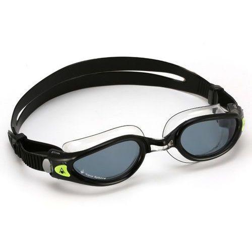 Aquasphere okulary Kaiman Exo small ciemne szkła-czarny.