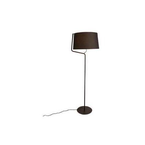 Maxlight chicago f0036 lampa stojąca podłogowa 1x100w e27 czarna (5903351000550)