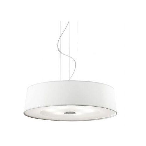 Lampa wisząca hilton sp6 round bianco marki Ideal lux