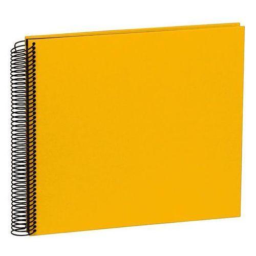 Semikolon Album na zdjęcia uni economy czarne karty średni żółty