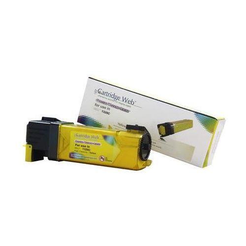 Cartridge web Toner cw-d1320yn yellow do drukarek dell (zamiennik dell 593-10260 / pn124) [2k]