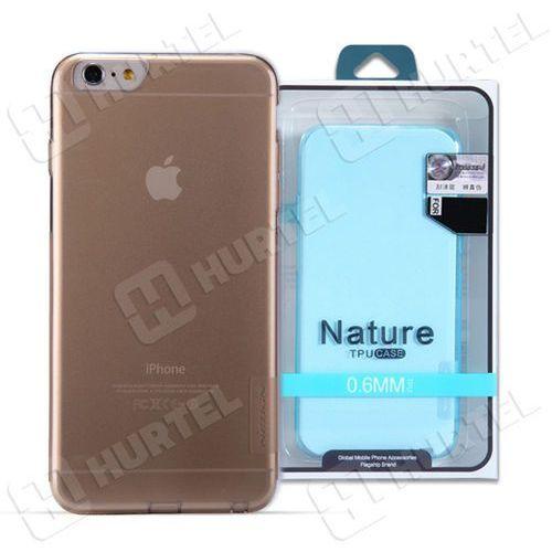 NILLKIN NATURE TPU iPhone 6 brązowy - brązowy, kolor brązowy