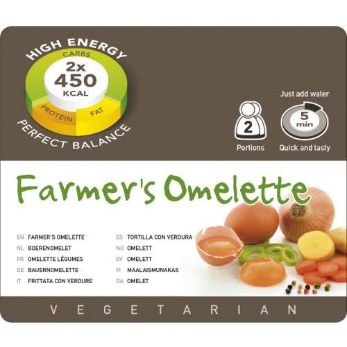 Omlet farmerski (2 porcje) marki Adventure food