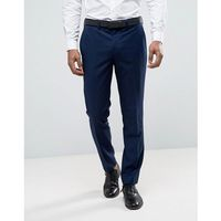 River island skinny fit suit trousers in navy - navy