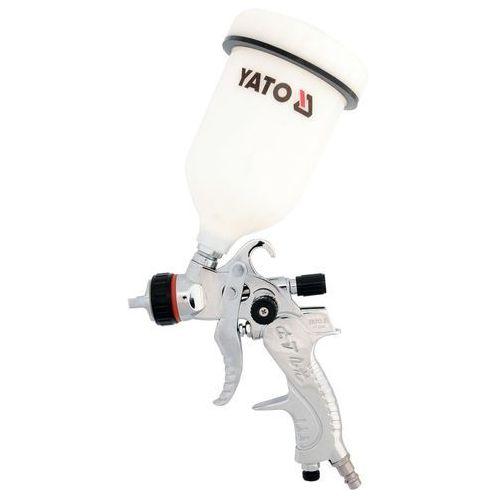 Pistolet lakierniczy hvlp 0.6l, 1.4 mm / YT-2340 / YATO - ZYSKAJ RABAT 30 ZŁ (5906083923401)