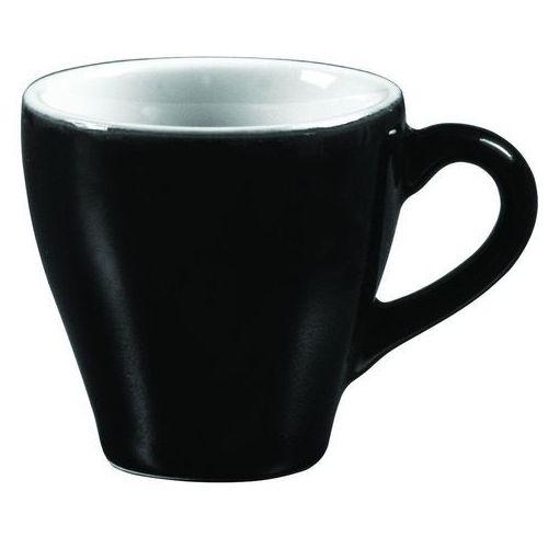 Filiżanka do espresso 70 ml, czarno-biała   ARIANE, Amico Cafe