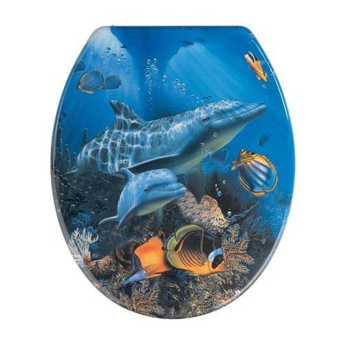 Deska sedesowa SEA LIFE - Duroplast, B005FQMN40