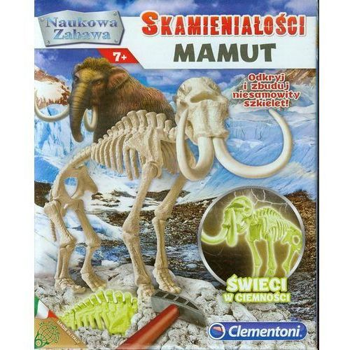 Naukowa zabawa. Skamieniałości. Mamut fluoresc, 73490103551GR (4595684)