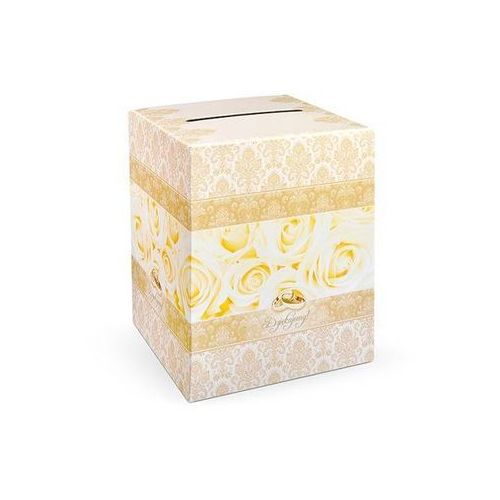 Party deco Pudełko na koperty z życzeniami, prezentami - 1 szt. (5901157436320)