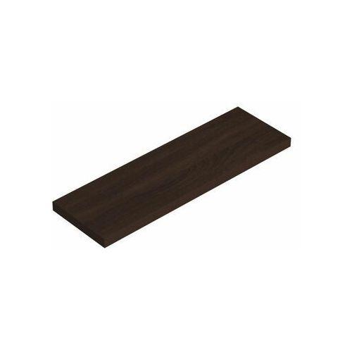 Półka ścienna KOMOROWA WENGE 79.5 x 23.5 cm VELANO