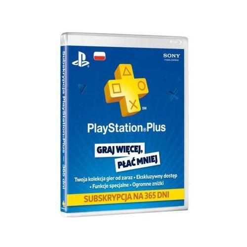 Playstation plus subskrypcja na 365 dni marki Sony