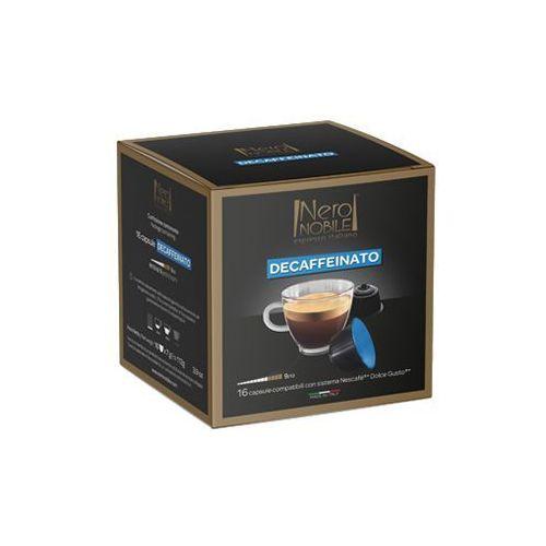 Kapsułki do nescafe dolce gusto* bezkofeinowa/decaffeinato 16 kapsułek - do 12% rabatu przy większych zakupach oraz darmowa dostawa marki Nero nobile