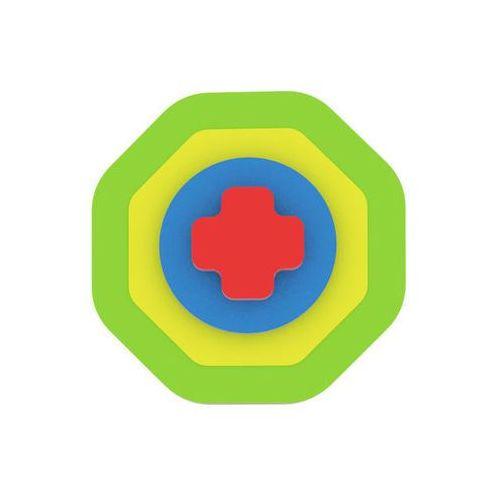 Moje první puzzle - Tvary osmiúhelník/zelená neuveden (8595615200263)