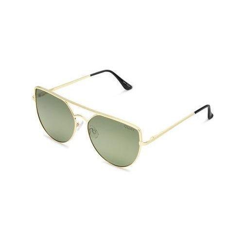 Okulary Słoneczne Quay Australia QW-000181 SANTA FE GOLD/GRN, kolor żółty