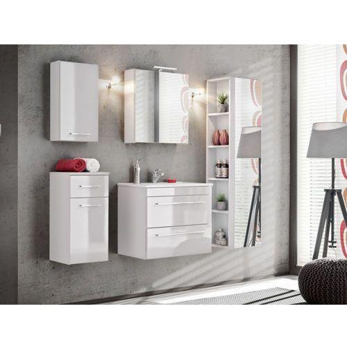 Zestaw MOLLY - meble łazienkowe - kolor biały