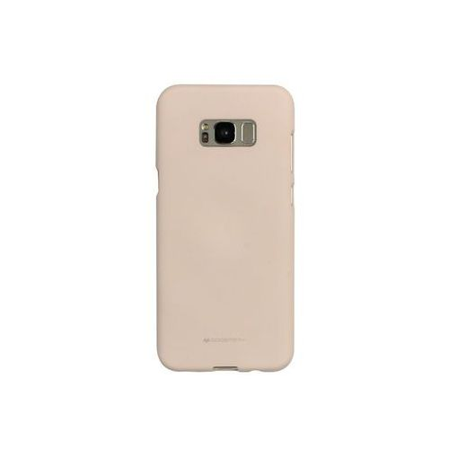 Samsung Galaxy S8 Plus - etui na telefon Mercury Goospery Soft Feeling - piaskowy róż, ETSM490GMSFPIA000