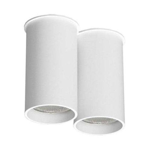 Downlight LAMPA sufitowa ARIDA 1112/GU10/BI Shilo natynkowa OPRAWA reflektorowa do łazienki tuby białe, 112/GU10/BI