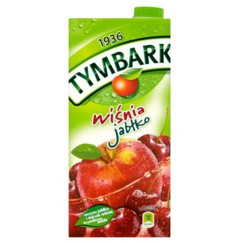 Napój  wiśnia-jabłko 1l wyprodukowany przez Tymbark