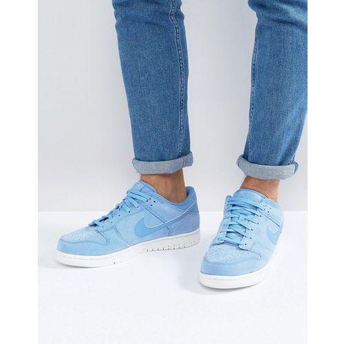 dunk low premium trainers in blue 921307-400 - blue marki Nike. Najniższe ceny, najlepsze promocje w sklepach, opinie.