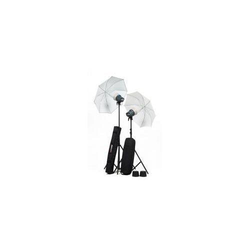 Zestaw lamp błyskowych Elinchrom D-Lite ONE/ONE parasole PROMOCJA! z kategorii Lampy błyskowe