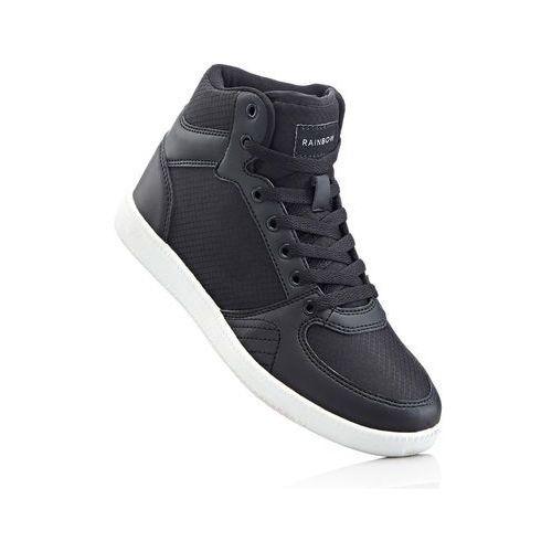 Wysokie sneakersy bonprix antracytowy, w 3 rozmiarach