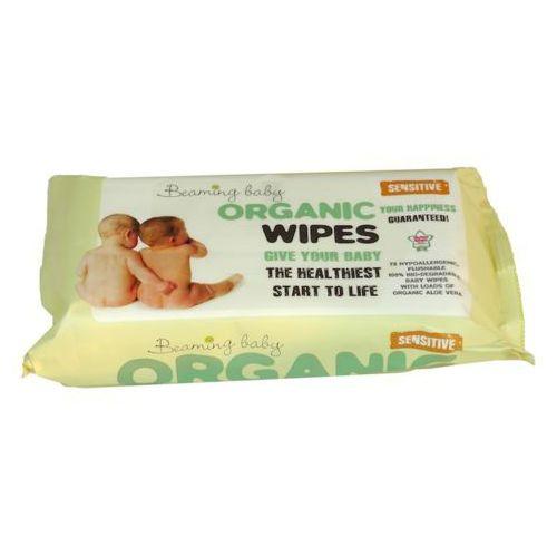 Organiczne chusteczki nawilżane do skóry bardzo delikatnej 72 szt. marki Beaming baby