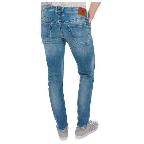 jeansy męskie hatch 33/32 niebieski, Pepe jeans