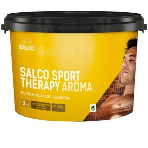 Sól do kąpieli Therapy Aroma SALCO 3kg Rozmaryn