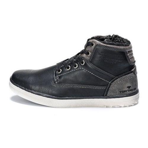 buty za kostkę męskie 44 czarny, Tom tailor