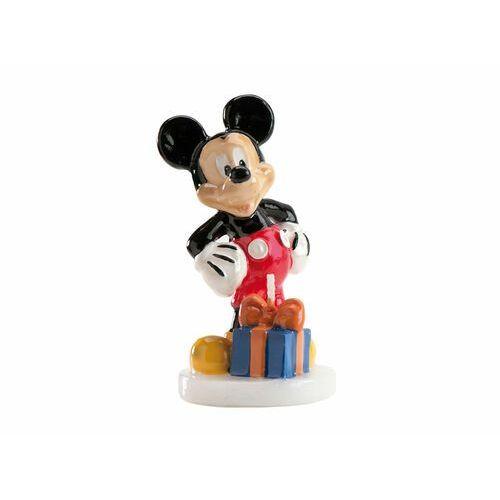 Świeczka urodzinowa Myszka Mickey 3D - 1 szt.