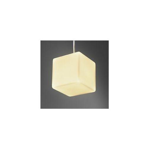 Rabaty w sklepie do 25%!! maxi glass zwis lampa wisząca 55211-03 biała marki Aquaform
