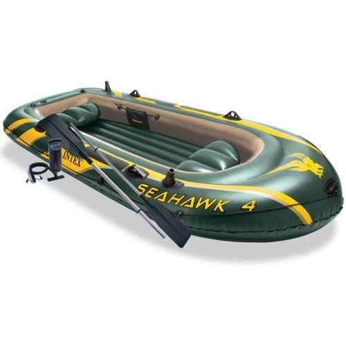 seahawk ponton z wiosłami + pompka 68351np wyprodukowany przez Intex