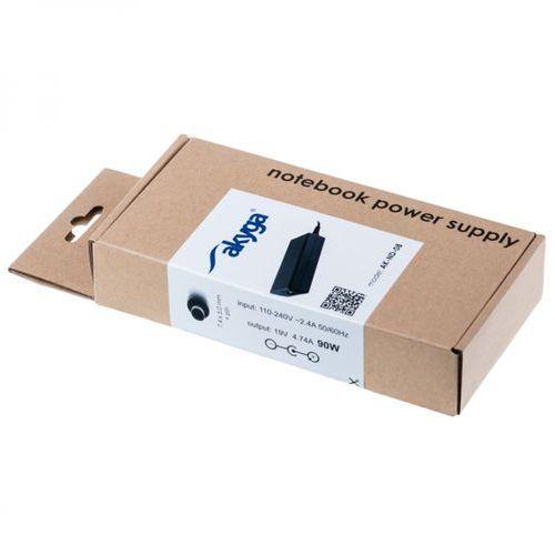 Zasilacz do laptopa HP Akyga AK-ND-08 19V/4.74A 90W 4.8x1.7 mm HP Zasilacz do laptopa HP Akyga AK-ND-08 19V/4.74A 90W 4.8x1.7 mm HP