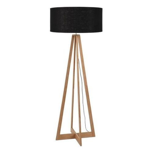 Everest-lampa podlogowa bambus & len naturalny wys.127cm marki Good & mojo