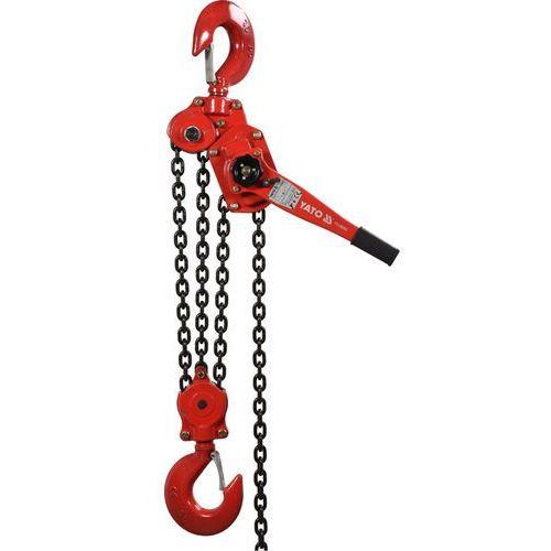 Wciągnik łańcuchowy dźwigniowy 9 t, wysokość podnoszenia 1,5 m / yt-58968 /  - zyskaj rabat 30 zł marki Yato
