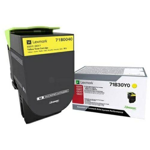 Lexmark toner Yellow 75B20Y0 (return), 75B20Y0