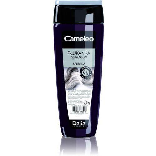 Delia cosmetics, cameleo. płukanka do włosów srebrna, 200ml - delia cosmetics od 24,99zł darmowa dostawa kiosk ruchu (5906750815916)