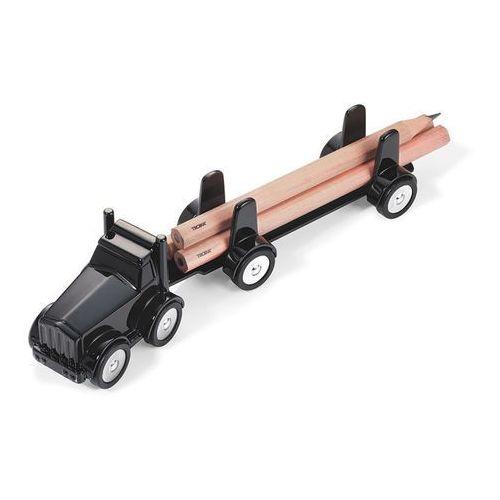 Troika Stylowy przybornik na biurko ciężarówka lumbertruck marki - czarny
