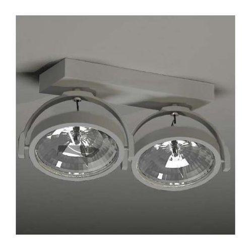 Plafon LAMPA sufitowa SAKURA 2234/G53/SZ Shilo regulowana OPRAWA reflektorowa szary, 2234/G53/SZ