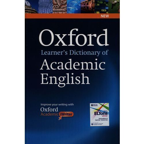 Oxford Learners Dictionary of Academic English with Academic iWriter on CD-ROM