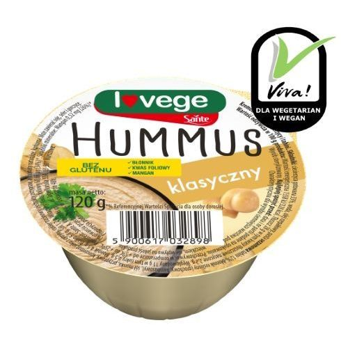 Hummus klasyczny 120g Sante (5900617032898)