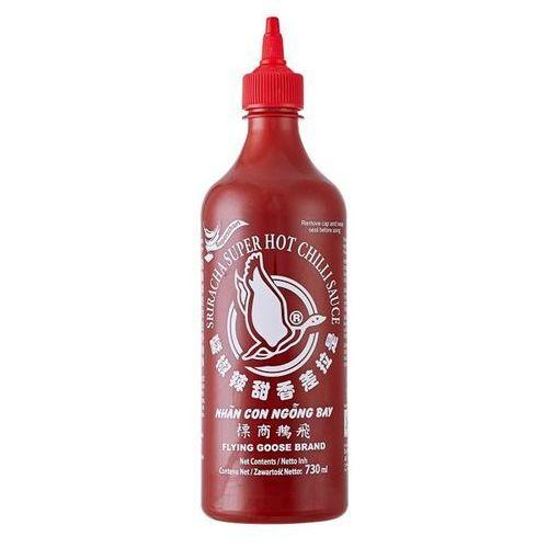 Sos chili sriracha, piekielnie ostry (chili 70%) 730ml - marki Flying goose