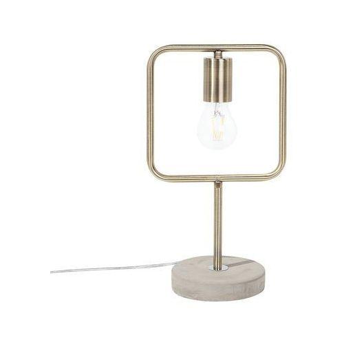 Lampa stołowa mosiężna MUNDO (4260586358308)