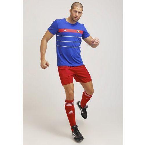 adidas Performance PARMA Krótkie spodenki sportowe power red/white, kolor czerwony