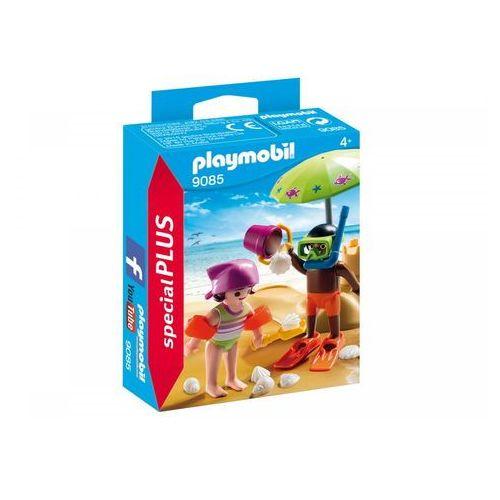 PLAYMOBIL® SpecialPLUS Dzieci z zamkiem z piasku 9085