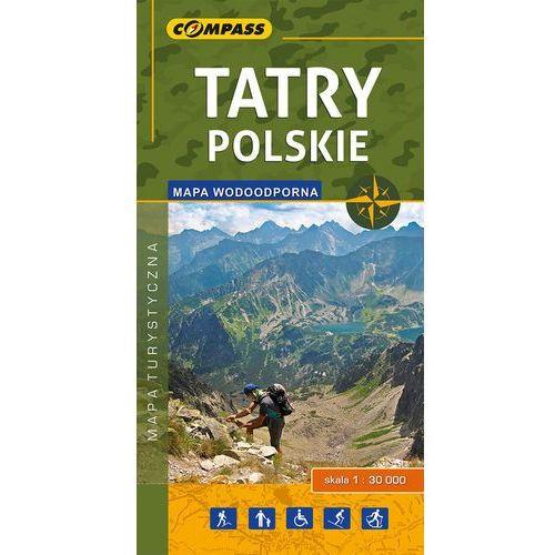 Tatry Polskie Mapa turystyczna 1:30000 wodoodporna - Compass (2017)